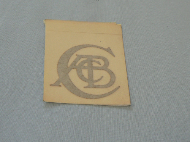 A007W6147Z DECAL - ACBC - GOLD