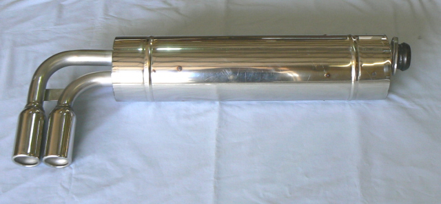 SJ079S0013 SPORTS SILENCER, STAINLESS STEEL  (series 2 and 3)